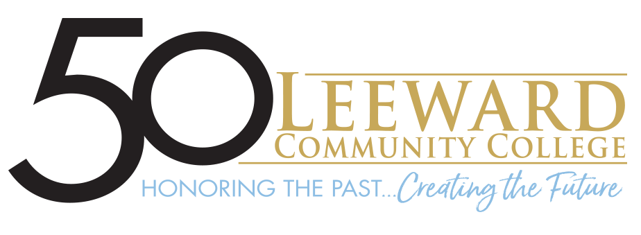 Leeward 50th Anniversary logo