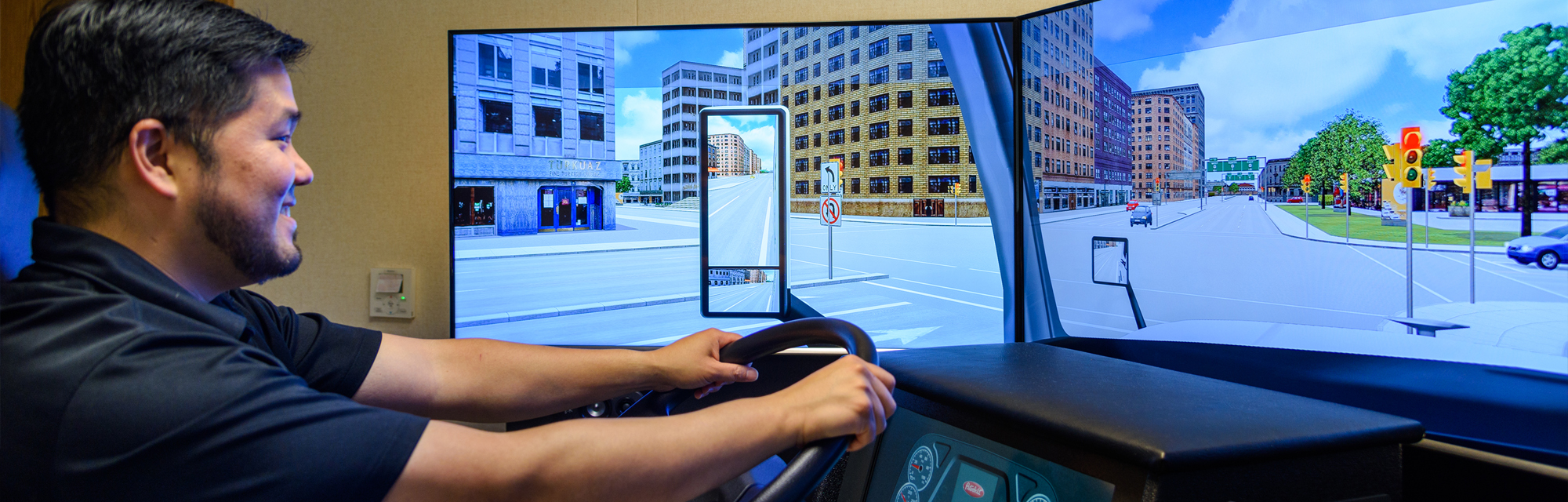 CDL Student Driving Simulator